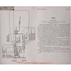 Dort Models 1918 1919 6volt Schema Electrique Westinghouse Plate 169