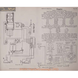 Empire 31 40 33 12volt Schema Electrique 1915 Remy Plate 232 232a