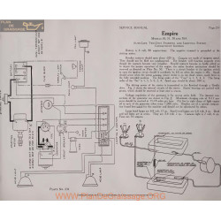 Empire 50 51 70 70a 6volt Schema Electrique 1915 Autolite Plate 231
