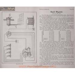 General Bosch D Dr Du Magneto Schema Electrique 1919 Plate 182