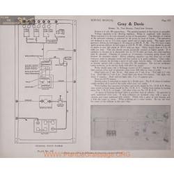 Gray & Davis 76 6volt Schema Electrique 1919 Plate 147