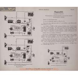 Hupmobile N 6volt Schema Electrique 1916 1917 Bijur Westinghouse Plate 56