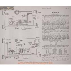 Inter State T Tr 6volt Schema Electrique 1919 Remy Plate 131