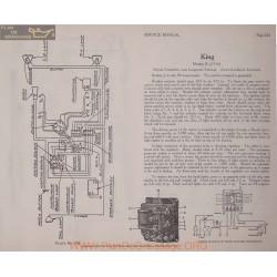 King E 6volt Schema Electrique 1916 Bijur Plate 242