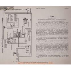 King Ee 6volt Schema Electrique 1917 Bijur Plate 243