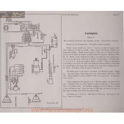 Lexington O 6volt Schema Elctrique 1919 Westinghouse Plate 247