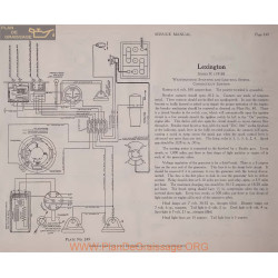 Lexington R 6volt Schema Electrique 1918 Westinghouse Plate 249