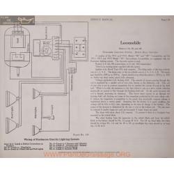 Locomobile 30 38 48 6volt Schema Electrique 1911 1912 1913 Plate 134