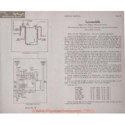 Locomobile 38 48 Serie Two 6volt Schema Electrique 1917 Westinghouse Plate 49