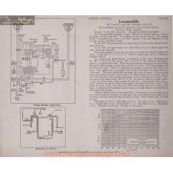 Locomobile 38 R7 48 M7 6volt Schema Electrique 1916 1917 Westinghouse Plate 136