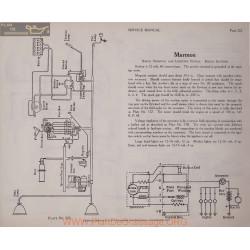 Marmon 12volt Schema Electrique 1919 Bosch Plate 222