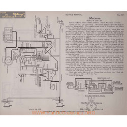 Marmon 34 6volt Schema Electrique 1917 1918 Bijur Plate 223