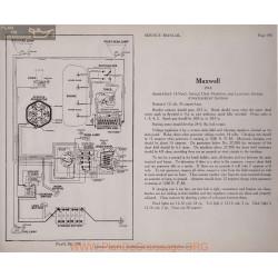 Maxwell Model 1918 12volt Schema Electrique 1918 Plate 190