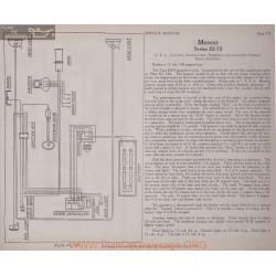 Mercer 22 72 12volt Schema Electrique 1919 Usl Plate 193