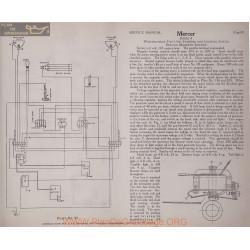Mercer Serie 4 6volt Schema Electrique 1919 Westinghouse Plate 89