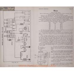 Moon 4 38 6 40 6volt Schema Electrique 1915 Delco Plate 73