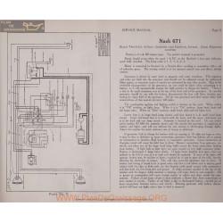 Nash 671 Two Unit 6volt Schema Electrique 1919 Bijur Plate 11