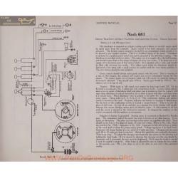 Nash 681 Two Unit 6volt Schema Electrique 1919 Plate 12