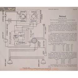 National Aa 6volt Schema Electrique 1915 Remy Plate 250