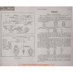 Oakland 32 34b 6volt Schema Electrique 1916 1917 1918 Remy Plate 42