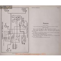 Paterson 32 33 6volt Schema Electrique 1914 Delco Plate 81