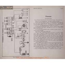Paterson 4 32 6 48 6volt Schema Electrique 1915 Delco Plate 82