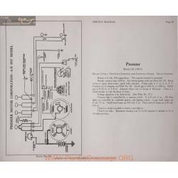 Premier 6b 6volt Schema Electrique 1917 Delco Plate 78