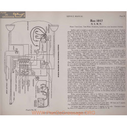 Reo 1917 R S M N Schema Electrique 1919 Remy Plate 32