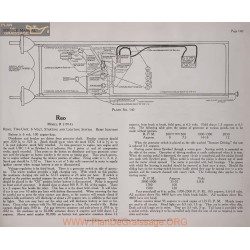 Reo R 6volt Schema Electrique 1914 Remy Plate 140