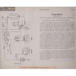 Scripps Booth G 6volt Schema Electrique 1917 Remy Plate 37