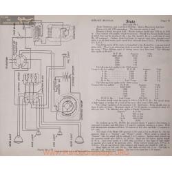 Stutz Model 1914 1915 6volt Schema Electrique 1914 1915 Remy Plate 119