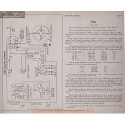 Sun Light Six 6volt Schema Electrique 1919 Remy Plate 46