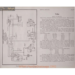 Velie 22 6volt Schema Electrique 1915 1916 Remy Plate 39