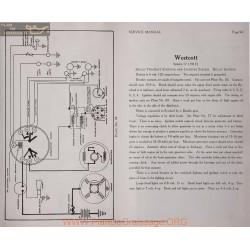 Westcott 17 6volt Schema Electrique 1917 Delco Plate 94