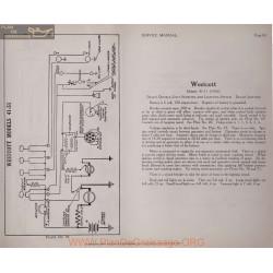 Westcott 41 51 6volt Schema Electrique 1916 Delco Plate 93