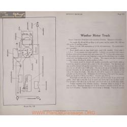 Winther Motors Truck 108 128 148 12volt Schema Electrique 1919 Bijur Plate 130