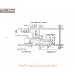 Cartercar 7 Schema Electrique 1914 P1