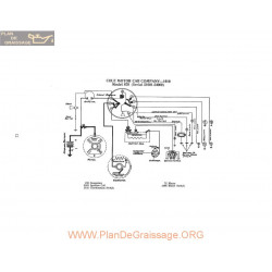 Cole Motor 870 Schema Electrique 1919 P2
