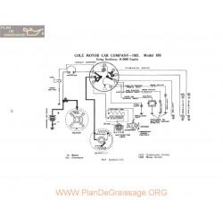 Cole Motor 870m309 Schema Electrique 1921