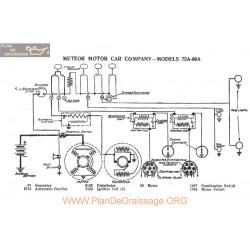 Meteor Motor 75a 80a Schema Electrique 1917