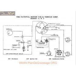 National A F 3 Schema Electrique 1918
