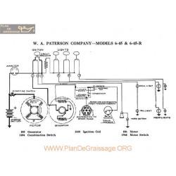 Paterson 6 45 6 45r Schema Electrique 1918