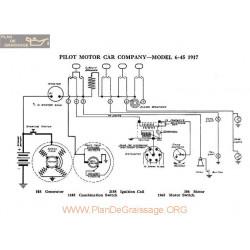 Pilot Motor 6 45 Schema Electrique 1917 V2