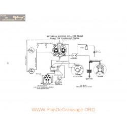 Sayers & Scovill 7w Schema Electrique 1920