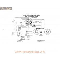 Sayers & Scovill 9n Schema Electrique 1919 P1