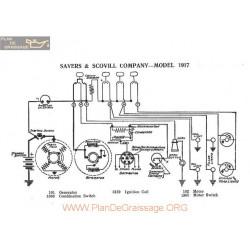 Sayers & Scovill Company Schema Electrique 1917