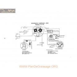 Seagrave Company F4 F6 Schema Electrique 1919