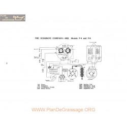 Seagrave Company F4 F6 Schema Electrique 1922