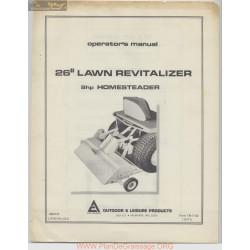 Allis Chalmers 26 Inch Lawn Revitalizer Homesteadertm 7132