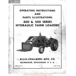 Allis Chalmers 400 500 Series Loader Manual